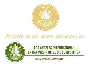 Medalla de Oro Arbequina «Los Ángeles, 2017»