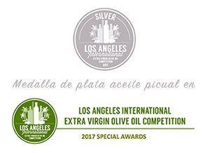 Medalla de Plata Picual «Los Ángeles, 2017»
