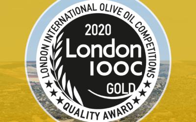 Medalla de Oro al AOVE Coupage de Primera Semana de Cosecha de Valdezarza